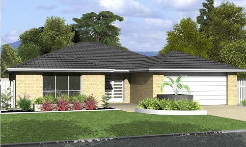 4 Bed 3 bathroom House Plans and Design